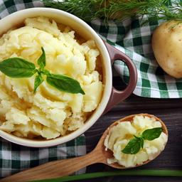Patates püresi kokusu